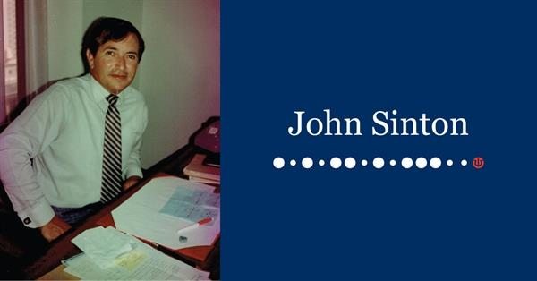 Remembering John Sinton